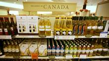 Wine at the LCBO at the Manulife Centre. (Charla Jones/The Globe and Mail/Charla Jones/The Globe and Mail)