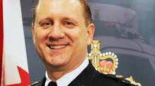 Victoria Police Chief Frank Elsner, in this file photo. Two retired judges have determined there is enough evidence for allegations of misconduct against Victoria's suspended police chief to hold disciplinary hearings (VPD)