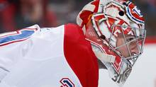 Goaltender Carey has literally lifting Montreal out of mediocrity with one of the better goaltending performances in recent decades. (Christian Petersen/Getty Images)