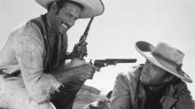 Eli Wallach and Clint Eastwood in a handout from The Good, The Bad, and The Ugly, directed by Sergio Leone.