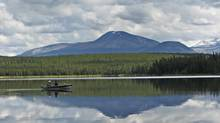 Fish Lake, B.C., falls in the territory claimed by the Tsilhqot'in First Nation. (Sibylle Zilker for The Globe and Mail)