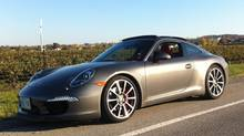 Porsche 911 Carrera S (Danielle Boudreau/The Globe and Mail)