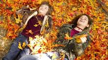 """Cameron """"CJ"""" Adams, left, and Odeya Rush in a scene from The Odd Life Of Timothy Green. (Phil Bray/Associated Press)"""