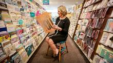 The new president of Hallmark Canada, Cindy Mahoney, visits the Hallmark Gold Crown store in Markham, On. Hallmark Cards in Canada is rolling out a new line of French cards geared specifically toward Quebeckers. (Glenn Lowson for The Globe and Mail)