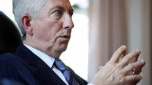 Bloc Quebecois Leader Gilles Duceppe gives an interview in his Ottawa office on March 25, 2010. (Blair Gable/Blair Gable for The Globe and Mail)