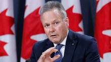 Bank of Canada Governor Stephen Poloz speaks during a news conference in Ottawa in this 2016 file photo. (CHRIS WATTIE/REUTERS)