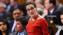 Minister of Foreign Affairs Chrystia Freeland responds to a question during question period in the House of Commons on Parliament Hill in Ottawa, on March 6, 2017. (Sean Kilpatrick/THE CANADIAN PRESS)