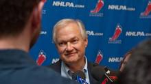 Don Fehr, executive director of the National Hockey League Players Association