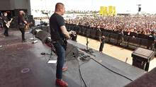 Lars Frederiksen of Rancid performs at the 2016 Coachella Valley Music & Arts Festival April 24, 2016 in Indio, Calif. (Kevin Winter/Getty Images for Coachella)