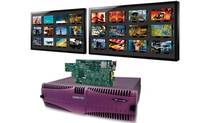 Miranda Technologies Inc. is a global provider of integrated solutions for production, playout and delivery systems for television broadcasters and multi-system operators. Its modular Kaleido multiviewer technolgy is shown here. (Miranda Technologies Inc.)