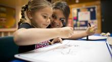 Chief Matthews is one of few B.C. reserve schools that are not affected by mouldy portables and a poor native education system. The school runs up to Grade 4, but many are expressing interest in an expansion to include secondary school teaching. (Oct. 3, 2012) (John Lehmann/The Globe and Mail)