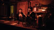 At their monthly Grape Witches sessions, sommelier Krysta Oben and wine importer Nicole Campbell aim to share their knowledge of wines in a female-friendly atmosphere. (Jenalle Los/Globe and Mail Update)