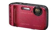 Sony's Cyber-shot TF1 camera is waterproof, shock-resistant, freeze proof, dust proof – maybe even kid proof.