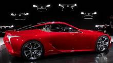 Lexus LF-LC concept (Carlos Osorio/AP Photo/Carlos Osorio)