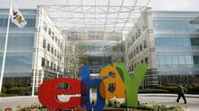 Aimia's marketing program will be able to monitor what an eBay customer buys in the U.K. (ROBERT GALBRAITH/REUTERS)