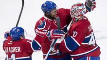 The Montreal Canadiens finished second overall in the NHL with 50 wins and 110 points last season, but now are facing tough odds just to make the playoffs. (Paul Chiasson/THE CANADIAN PRESS)
