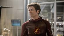 Grant Gustin stars as Barry Allen in The Flash, which is filmed in Vancouver.