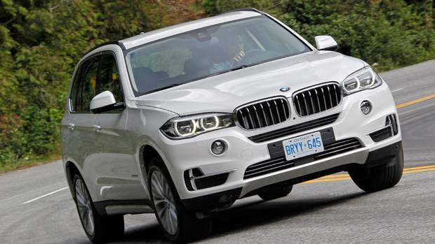 The gas-powered X5 xDrive 35i, powered by the TwinPower Turbo 3.0-litre-inline six-cylinder (300 horsepower), will start at $62,900 (BMW)