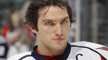 Alex Ovechkin #8 of the Washington Capitals. (Photo by Joel Auerbach/Getty Images) (Joel Auerbach/2011 Getty Images)