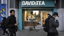 DavidsTea's new chief executive, Joel Silver, said the retailer has 'overwhelmed' customers with new weekly products. (Fred Lum/The Globe and Mail)