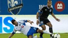 San Jose Earthquakes' defender Justin Morrow during second half MLS soccer action in Montreal, Saturday, August 18, 2012. (Graham Hughes/THE CANADIAN PRESS)