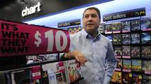 HMV Canada president Nick Williams says his company has an advantage over purely digital entities in reaching consumers. 'The key difference between ourselves and everybody else is we have retail stores, so we can talk to our consumers. We can educate them, and sell them in value.' (Fred Lum/The Globe and Mail)