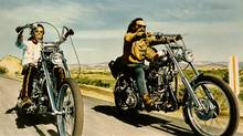 Easy Rider: One of America's last competitive cultural exports, it seems, is the postadolescent male escape fantasy (Kobal Collection)