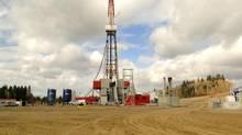 A Talisman Energy operation in Alberta's Duvernay shale region. (Talisman Energy)