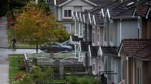 The benchmark price for detached houses sold in September in Greater Vancouver hit a record $1.58-million. – 33.7 per cent higher than in September, 2015 (DARRYL DYCK For The Globe and Mail)