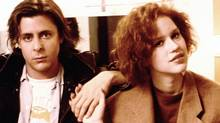 Judd Nelson and Molly Ringwald star in The Breakfast Club.