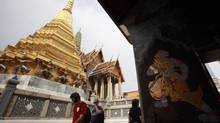 Wat Phra Kaeo in Bangkok houses the sacred Emerald Buddha statue. (CHAIWAT SUBPRASOM/REUTERS)