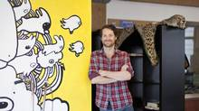 Ryan Holmes, HootSuite's CEO (Grant Harder/Grant Harder)