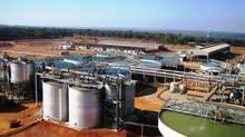 First Quantum Minerals' Kansanshi site in Zambia.
