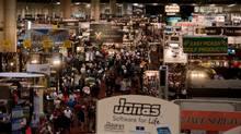 PGA Merchandise Show convention floor (Montana Pritchard/01.28.2011)