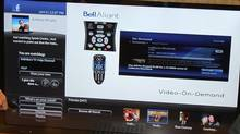 Bell Aliant shows the new Facebook App on FibreOP TV (Hand-out/W Group/BELL ALIANT INC)