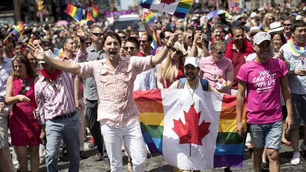 Trudeau to march in Toronto Pride Parade for a second time - The Globe and Mail
