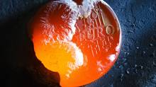 A one euro coin is melted with a welding torch in this photo illustration taken in Bern November 8, 2011. According to sources quoted by Reuters, euro zone members have been told to prepare a contingency plan for Greece leaving the economic zone. (MICHAEL BUHOLZER/Reuters)