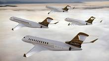 Bombardier Global 7000 and Global 8000 business jets (Bombardier)
