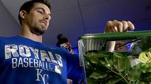 Acquired last July 30 for Brett Eibner, Burns became caretaker of a rally praying mantis when the Royals went on a hot streak. (The Associated Press (File))