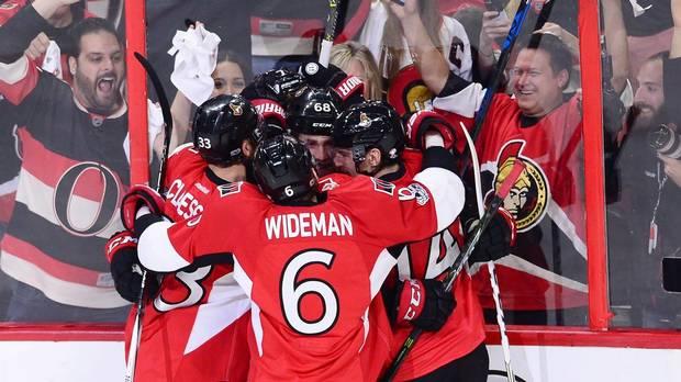 Senators Dominate Penguins To Take 2-1 Series Lead