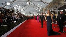 After Jennifer Lawrence made a mild swipe at Jessica Chastain, their alleged sniping became news around the world. (Mario Anzuoni/REUTERS)