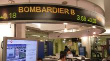 Bombardier says it has won an eight-year contract valued at $331-million from Montreal's regional transport authority to operate and maintain a commuter rail fleet in the greater Montreal area. (Fernando Morales/The Globe and Mail)