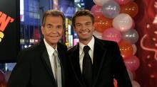 Dick Clark (left) and Ryan Seacrest (AP Photo/ABC News)