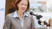 Alberta premier Alison Redford. (Emma Bennett/THE CANADIAN PRESS)