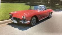 Betsy, the 1962 Corvette owned by Kenneth Jelley, was bought for $1,600 and valued at $40,000. It was reported stolen more than a week ago.