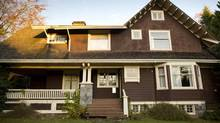 3738 Hudson St, Shaughnessy, Vancouver, photographed November 14, 2012 and now slated for demolition. (John Lehmann/The Globe and Mail)