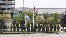 This Sept. 25, 2015, file photo shows the Mall of America in Bloomington, Minn. (Jim Mone/AP)