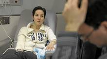 Breast-cancer patient Jill Anzarut at Toronto's Princess Margaret Hospital. (Fred Lum/The Globe and Mail)