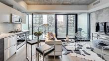 Agent David Fleming expects this 450-square-foot King West condo unit listed with an asking price of $399,000 will receive 15 offers.