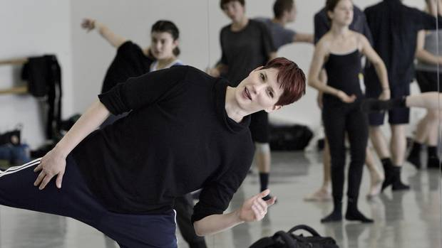 Emily Molnar, artistic director of Ballet BC.